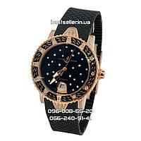 Часы Ulysse Nardin Lady Diver Starry Night 40mm (Механика) Gold/Black. Реплика: ААА.