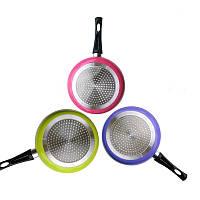 Gohide Frying Pan In Colorful Дизайн Eco Friendly Кухонный горшок с плоским горшком № Лампа Черный пан