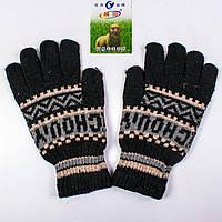 Мужские зимние перчатки с начёсом Tanya 01-08-4