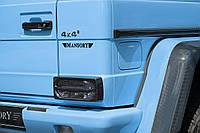 Накладки на стопы Mansory g class W463 g55 g63 g66 g500, фото 1