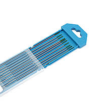 10pcs 1мм х 175мм зеленый наконечник чисто вольфрамовый электрод для аргонодуговой сварки