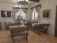 Деревянная мебель для ресторанов, баров, кафе в Броварах