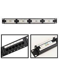 CAT 6 24-портовый сетевой сетевой адаптер LAN Коннектор Кронштейн для крепления кабеля