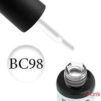 Гель-лак Naomi Boho Chic BC 98 (белый, эмалевый, плотный, эмалевый, плотный), 6 мл