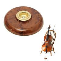 Имитация углеродного волокна металла глаз противоскользящие коврик цвет древесины для виолончели