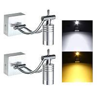 3W LED Современная крыльцо настенного светильника Spotlightt Mirror Лампа