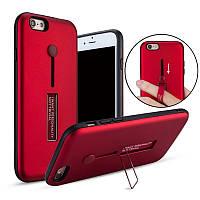 BakeeyВстроенныйдержательдлякик-стриповPC + TPU Защитный Чехол Для iPhone 6/6s 4.7 дюймов