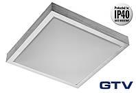 Накладной светильник GTV ATLANTOS-KW LED 12Вт 720lm 4000K IP40, алюминий
