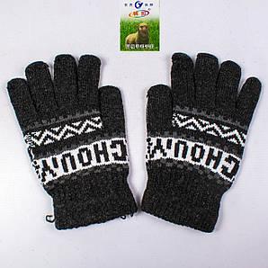 Мужские зимние перчатки с начёсом Tanya 01-08-5