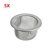 5шт 15мм нержавеющая сталь металлический экран сетчатый фильтр для кристалла курения табака трубы