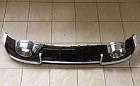 Диффузор заднего бампера Audi A3 (2012-2015) стиль Audi RS3