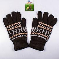 Мужские зимние перчатки с начёсом Tanya 01-08-6
