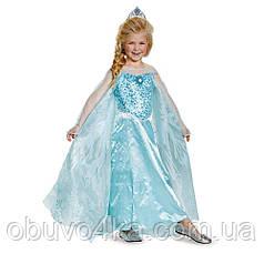 Костюм Эльзы из Холодного Сердца Frozen 7-8 лет