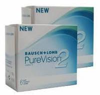 Контактные линзы PureVision2 (2уп) + Подарок!