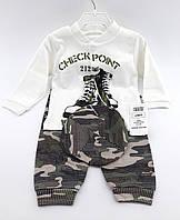 Детский костюмчик для новорожденных 0-3  месяцев Турция
