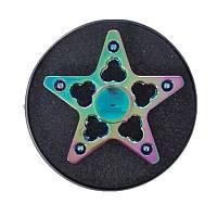 Пять звезд Красочный вращающийся Fidget Рука Spinner ADHD Аутизм Уменьшить стресс Фокус Внимание Игрушки