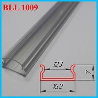 Накладной алюминиевый профиль под LED ленту 3,0 м. Серебро