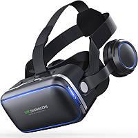 VR Shinecon 6+0,0 360 градусов Стерео 3D Виртуальная реальность Очки Коробка Гарнитура для 4.7-6+0,0 дюймового смартфона-1TopShop