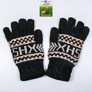 Мужские зимние перчатки с начёсом Tanya 01-08-7