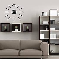 3D DIY Акриловая наклейка для наклейки на зеркало Часы для домашнего декора Художественная комната для дома Часы