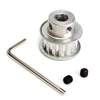 Xl15t 8мм отверстие алюминиевый ремень газораспределения шкив синхронные колесо для шагового двигателя