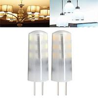 G4 3w 24 СМД 3014 LED кристаллический свет силикона шарика теплый / холодный белый светильник для дома AC / DC 12v