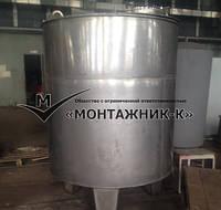 Емкостное оборудование для плодоовощной промышленности по чертежам заказчика.