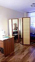 Ширма зеркало+бамбук для магазина, ателье, гардеробной.