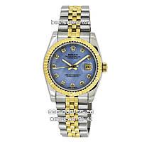 Часы Rolex DateJust 36mm (механика) Silver/Gold. Класс: ААА.