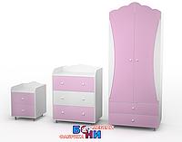 """Комплект мебели  """"Адель"""" (сакура розовая)"""