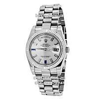 Часы Rolex Day-Date 36mm (механика) Silver/Grey. Класс: ААА.