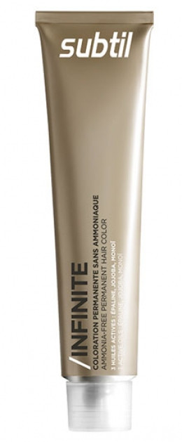 LABORATOIRE DUCASTEL Ducastel Subtil Infinite - стойкая крем-краска для волос без аммиака 7-44 - блондин медны