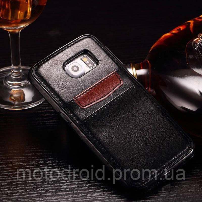 Кожаний чохол для Samsung Galaxy Note 5