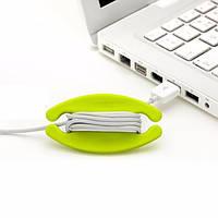 Бобино силиконовые наушники провод USB кабельный органайзер моталки проволоки