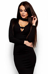 (S   42-44) Неповторне чорне вечірнє плаття Monro 3e25c98a3f9de