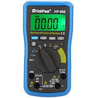 Holdpeak л.с.-90e цифровой автоматический диапазон DMM мультиметра постоянного тока ампер вольт Ом FREQ крышка измеритель температуры батареи тест