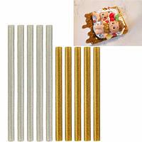 5 штук полупрозрачный клей блестки горячего расплава палочки декоративный элемент соуса поддельные обледенения сургучные печати