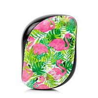 Расческа Tangle Teezer Compact Styler Flamingo Skinny Dip Green