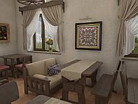 Деревянная мебель для ресторанов, баров, кафе в Борисполе, фото 1