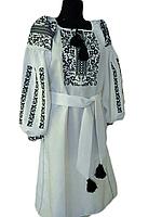 "Жіноче вишите плаття ""Морвет"" (Женское вышитое платье ""Морвет"") PU-0017"