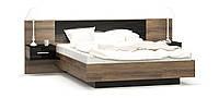 Ліжко+приліжкові тумби до спальня Фієста Fiyesta