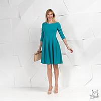 Платье со складками для беременных и кормящих мам HIGH HEELS MOM (морская волна, размер S)