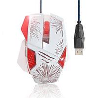 800-1200-1600-2400dpi 6d кнопку 7 светодиодный свет проводной игровой мыши