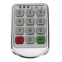 Металла цифровой номер электронного клавиатура пароль кабинет кодовые замки серебра