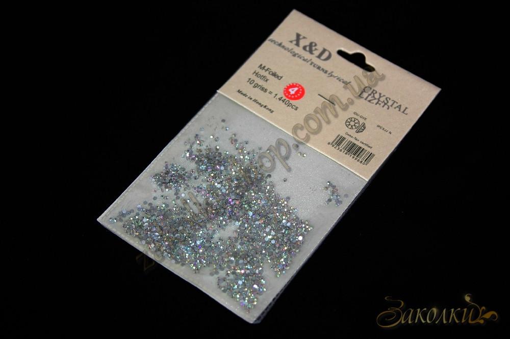 Кристали X&В Crystal Lized, пікселі для дизайну нігтів, 1440 штук в упаковці-1 упаковка
