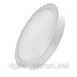 Светодиодный светильник LEDEX круг накладной 6Вт 4000К