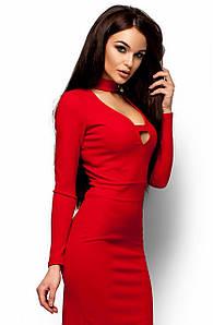(S   42-44) Неповторне червоне вечірнє плаття Monro bc3599f3bf8ac