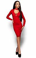 Неповторне червоне вечірнє плаття Monro (S, M, L)
