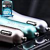 Автомобильное зарядное Remax Fast 7 RCC204 2 USB, фото 6