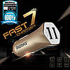 Автомобильное зарядное Remax Fast 7 RCC204 2 USB, фото 7
